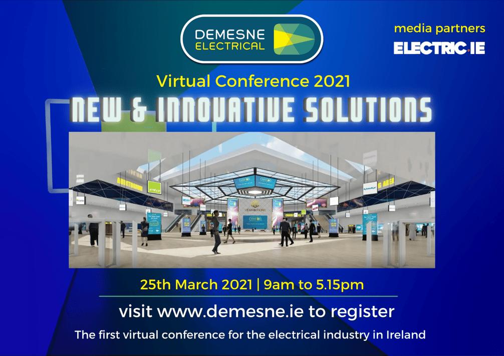 half A4 virtual conference ad