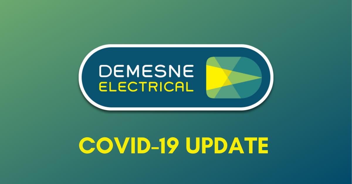 Covid19 Latest Customer Update