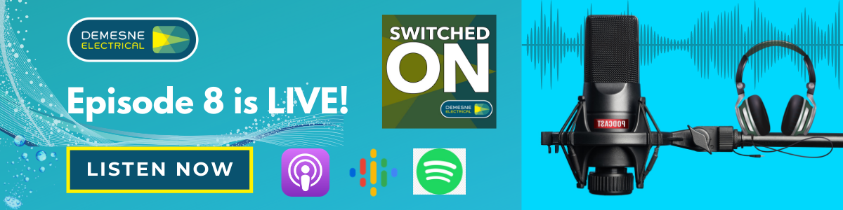 Switched On Podcast Episode 8 | Listen Now!