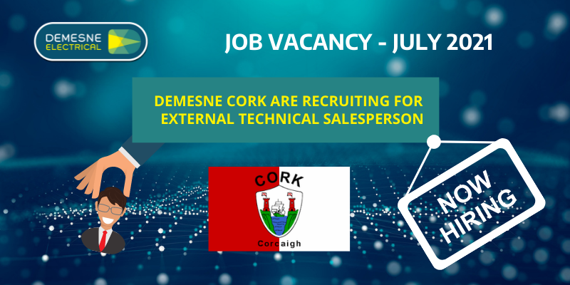 We Are Hiring! Vacancy In Our Cork Office